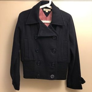 Navy Blue Peacoat Style Jacket by Tommy Hilfiger